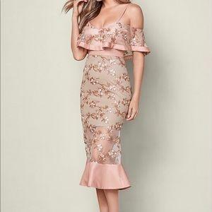 Venus embroidered dress